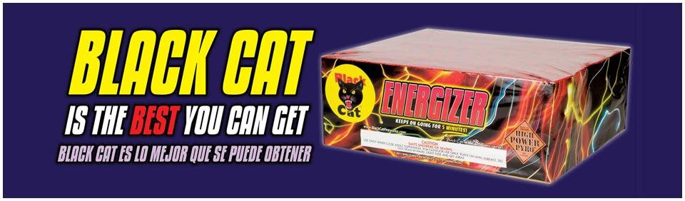 Thunder Fireworks Black Cat Fireworks Retail And